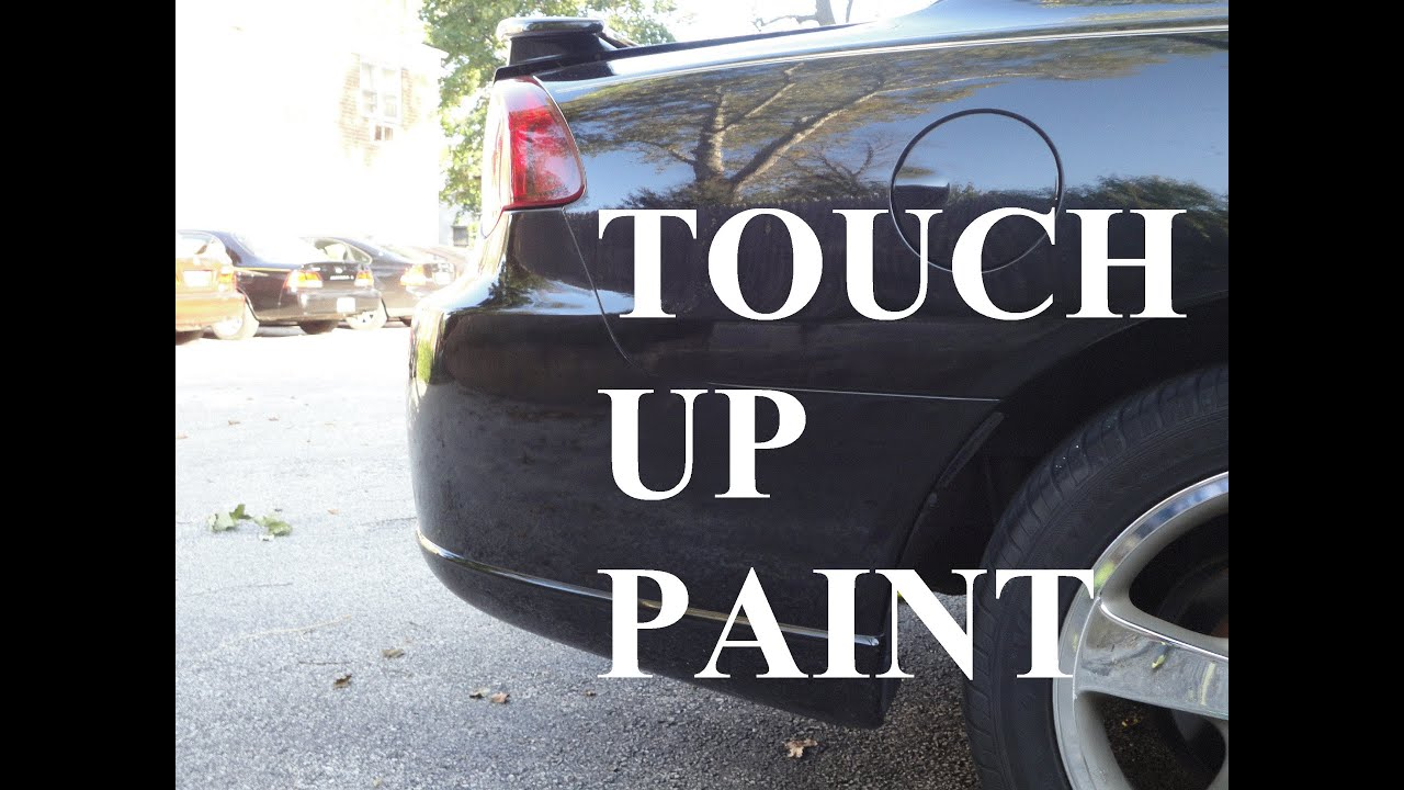 how to apply touch up paint to almost like new youtube