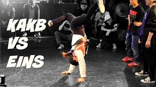Best 4. Bgirl Yasmin and Miju (KAKB/ Sparky Jewel) vs. Eins Crew. BOTY 2016 Qualifier