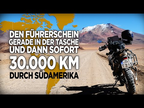 30.000 Km mit der BMW F800GS durch Südamerika eine Reise die im Kopf begann und im Herzen endete.
