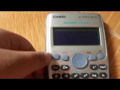 Cách Chơi Trò Chơi Trên Máy Tính Casio Fx 570 VN PLUS NPH CHANNEL