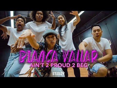 Bianca Vallar Choreography | Ain't 2 Proud 2 Beg | STEEZY.CO Intermediate Class