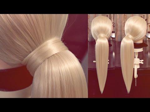 Конский хвост - секрет объёма - Hairstyles by REM