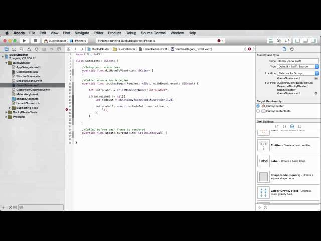 iOS Development with Swift Tutorial - 33 - Transitioning to a New Scene