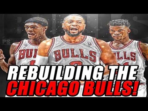 NBA 2K17 MyLEAGUE: Rebuilding the Chicago Bulls!