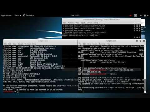 [tutorial hacking] exploit to postgreSQL on metasploitable