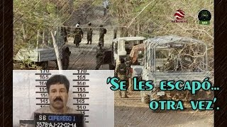 EEUU localizó a El Chapo en la Sierra de Durango y Sinaloa. La Marina provoca terror en la zona.