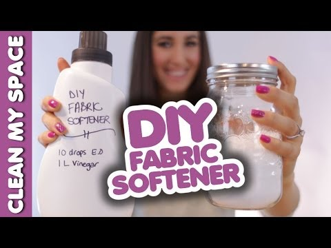 DIY Fabric Softener: How to Make Fabric Softener & Save Money on Laundry (Clean My Space)