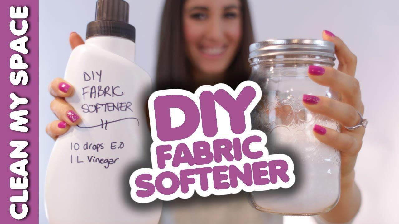 DIY Fabric Softener: How to Make Fabric