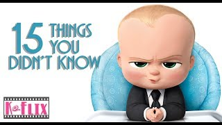 15 Things you probably didn't know about The Boss Baby movie | Easter Egg | Spoilers