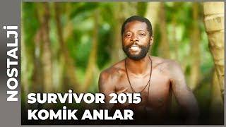 Yarışmacıların Kamera Karşısındaki Komik Anları  Survivor Türkiye
