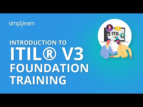 Introduction To ITIL® V3 Foundation Training | Simplilearn