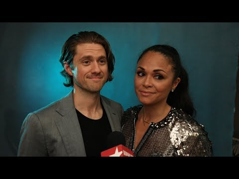 Karen Olivo and Aaron Tveit Are Ready for the High Romance of MOULIN ROUGE! THE MUSICAL