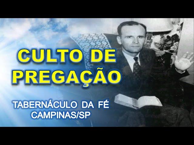 25.12.2015 - Culto Sexta-Feira - Confraternização Boa Esperança - Tabernáculo da Fé Campinas/SP