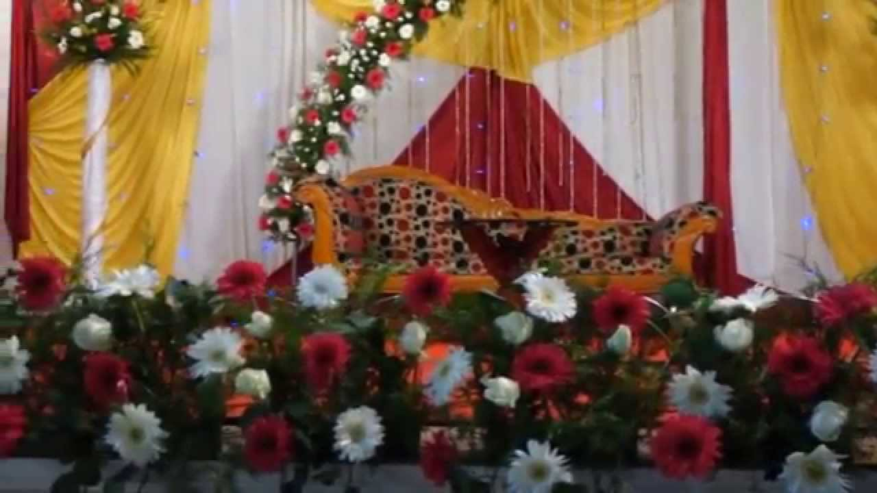 Wedding Reception Stage Decoration Trivandrum Kerala