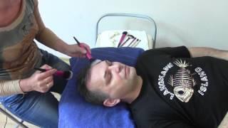 КИСТОЧКОВЫЙ  МАССАЖ ЛИЦА  /FACIAL MASSAGE/ASMR Relaxation