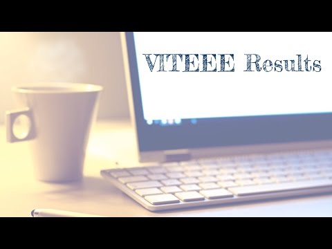 VITEEE 2017 Result, Rank, Counselling, Placement Stats