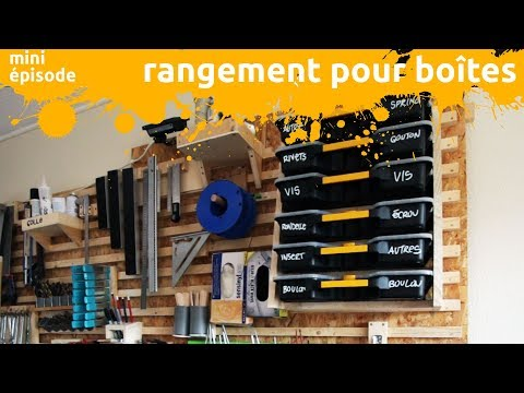 Rangement Pour Boites A Quincaillerie Miniepisode Youtube