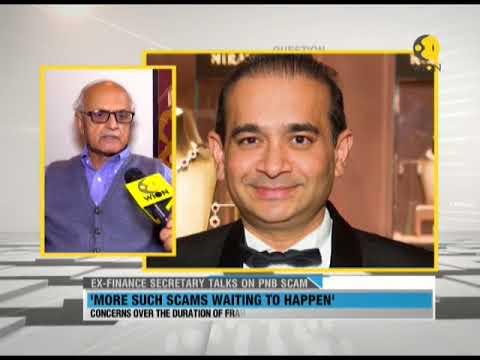 Ex-Finance Secretary talks on PNB scam
