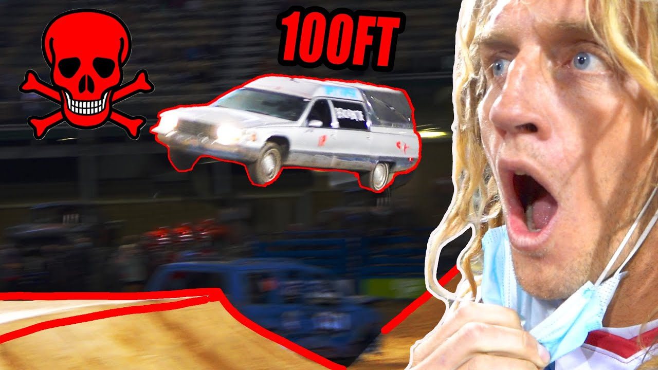 Download World Record - Dead Man Relocation Vehicle Jump (Hearse)