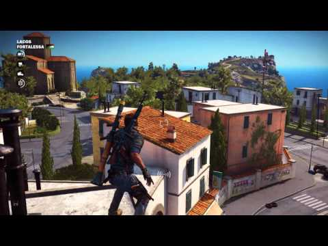 Just Cause 3 - Fortalessa Town Liberated: Billboard, Propaganda Driver, Police Station, Ravello Tape