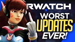 Top 7 WORST Updates in Overwatch History