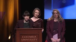 Natalia Antelava - 2018 duPont-Columbia Awards Acceptance Speech