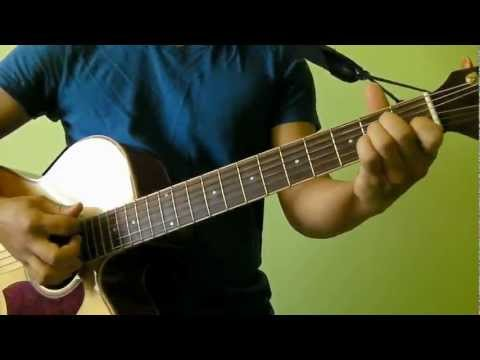 Somewhere Only We Know - Keane - Easy Guitar Tutorial (No Capo) - with Strumming Pattern