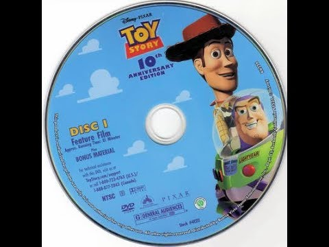 Toy Story 2005 Dvd Cover
