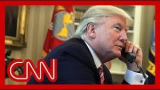 Trump's Phone Calls Alarm Us S Cnn News