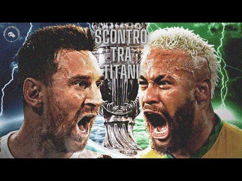 FINALE DI COPA AMERICA   BRASILE - ARGENTINA: SCONTRO TRA TITANI ?????