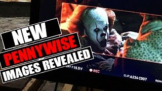 NEW Stephen King's IT 2017 Pennywise Pictures Revealed