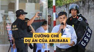 Nhn vin Alibaba lin tc quay phim on cng ch d n  Chu Pha