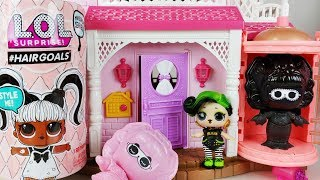 Baby doll Hair Spray and Hair Goals Makeover LOL Surprise doll toys house play  - 토이몽