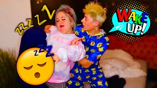Sleep Walking PRANK on my BOYFRIEND..*Cute Reaction*