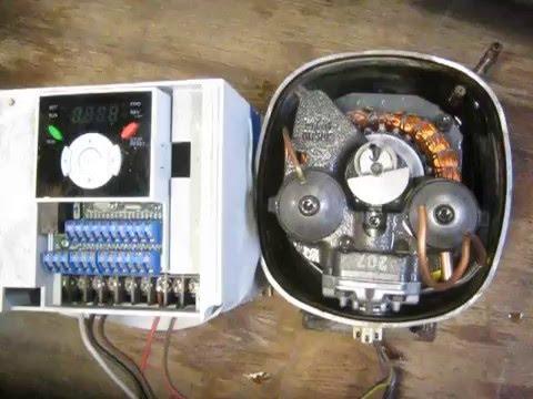Ge Refrigerator Wiring Diagram Refrigeration Compressor And Inverter Youtube
