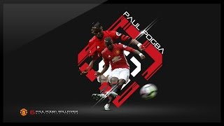 Photoshop Tutorial - Design a Football Wallpaper - Paul Pogba