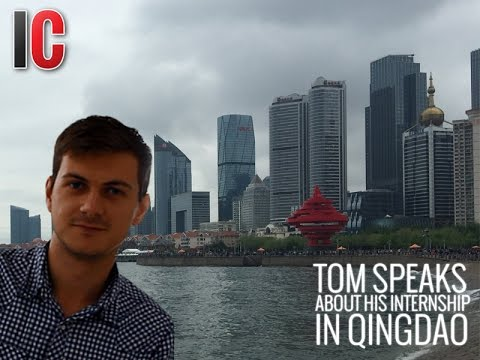 InternChina review with  Tom / UK / Marketing internship in Qingdao