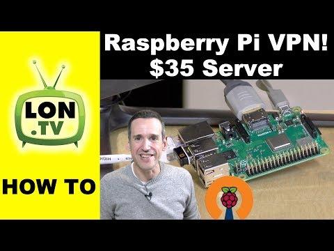 DIY Raspberry Pi VPN server project
