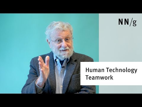 Human Technology Teamwork: The Role of Machines and Humans in Good UX Design (Don Norman)