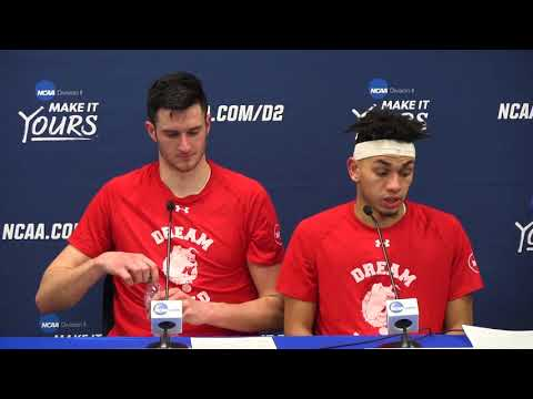 Ferris State coach and players react to win in Division II semifinals
