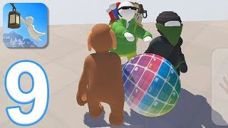 Human Fall Flat Mobile - Gameplay Walkthrough Part 9 - Multiplayer Mode (iOS, Android)