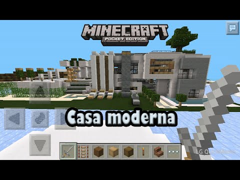 descarga casa moderna para minecraft pe 0 9 5 alpha youtube