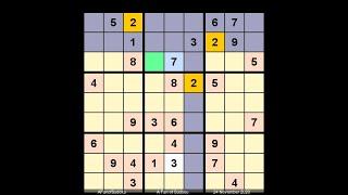 How to Solve New York Times Sudoku Hard November 24, 2020