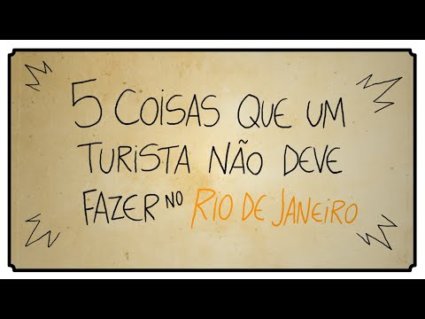5 Coisas Que Um Turista Não Deve Fazer No Rio De Janeiro Youtube