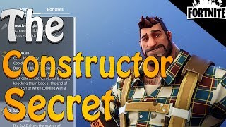 FORTNITE - The Constructor Secret (Constructor Tips And Tricks)