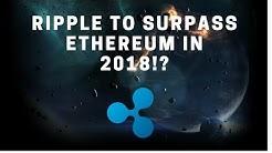 Ripple Surpassing BitcoinCash!