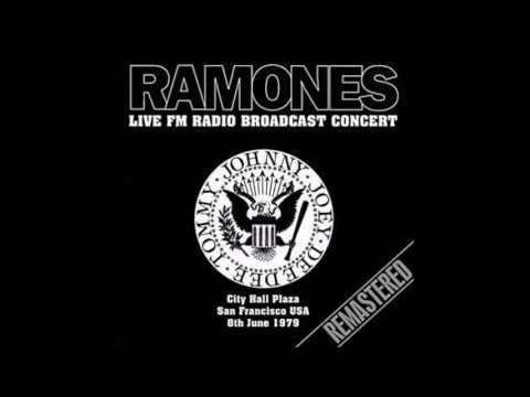 RAMONES - Live FM Radio Broadcast Concert - City Hall Plaza San Francisco USA 8th June 1979