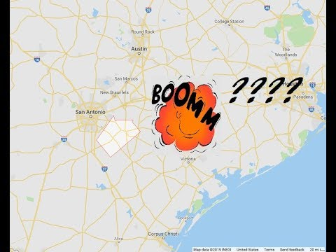 "Update! Rumors of Alien Spaceship Over Texas after Mystery ""Explosion"" is Heard"