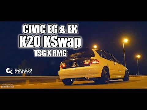 Honda EG EK Kswap K20 Brunei by TSG X RMG