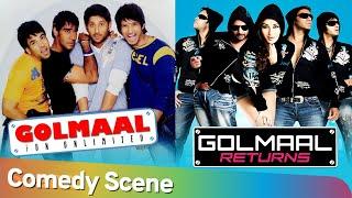 Best Of Golmaal Comedy Scenes - Golmaal Fun Unlimted | Golmaal Returns | Non Stop Golmaal Comedy